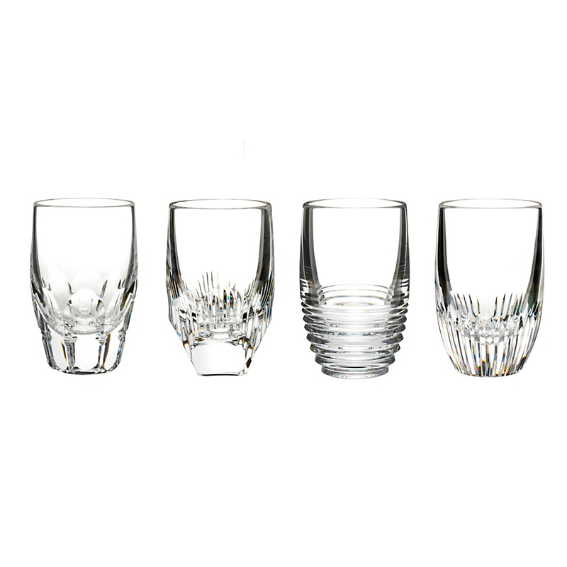 Waterford Mixology Shot Glasses Clear, Set of 4