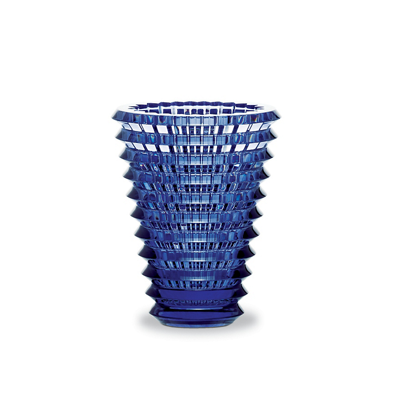 Baccarat Round Midnight Eye Vase, Small