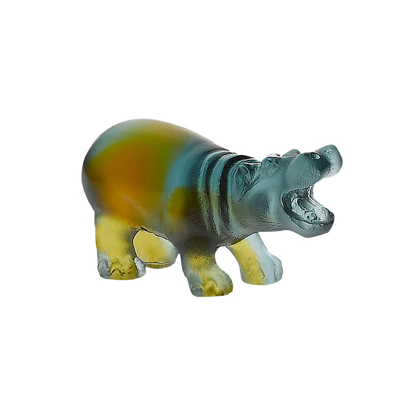 Daum Crystal Mini Hippo