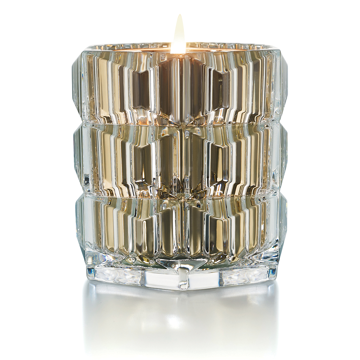 Baccarat Heritage Candleholder with Scented Candle, Rouge