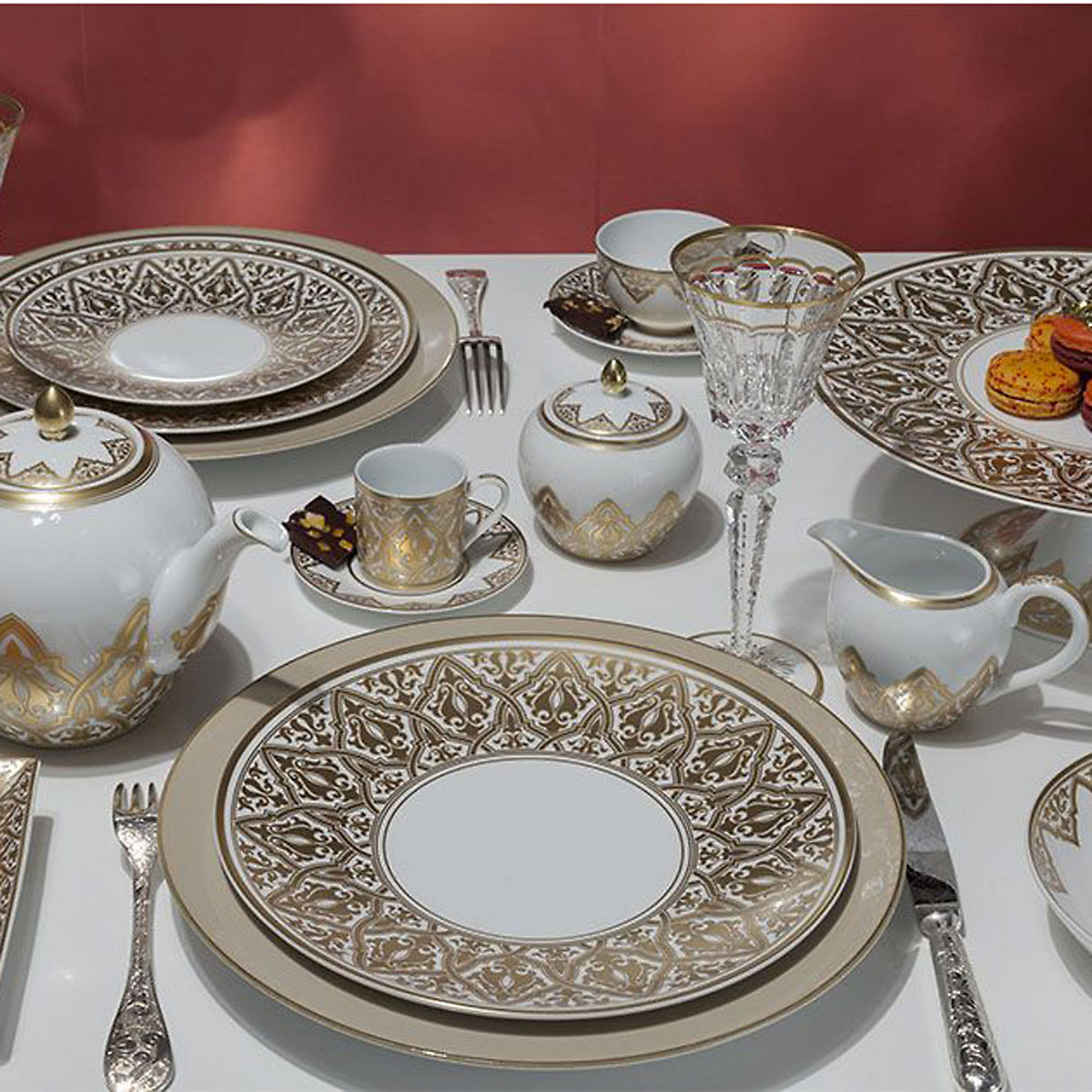 Bernardaud Venise Dinnerware Gold & Bernardaud Venise Dinnerware Gold   Gumpu0027s