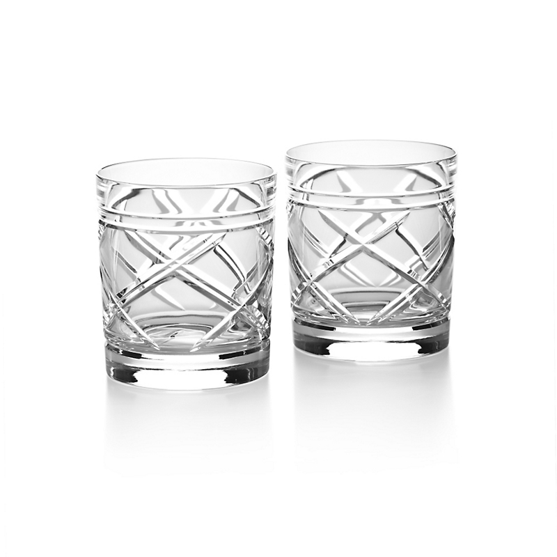 Ralph Lauren Brogan Classic Double Old Fashioned Glasses, Set of 2