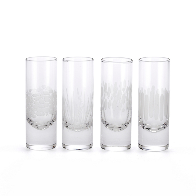 Mingle Shot Glasses, Set Of 4