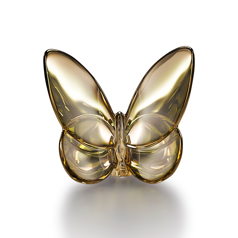 Baccarat Lucky Butterfly, Gold