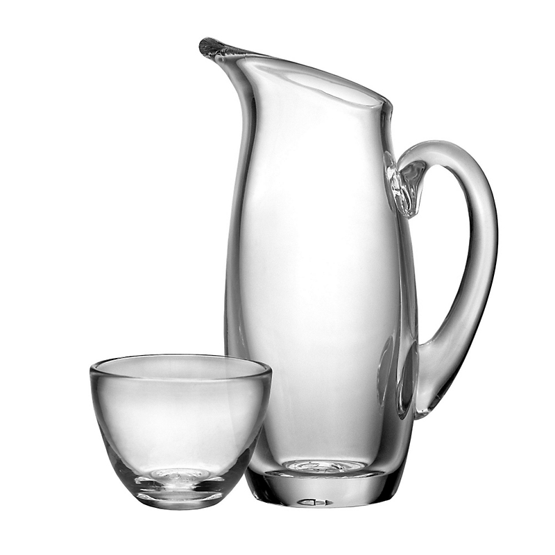 Simon Pearce Addison Creamer Sugar Set