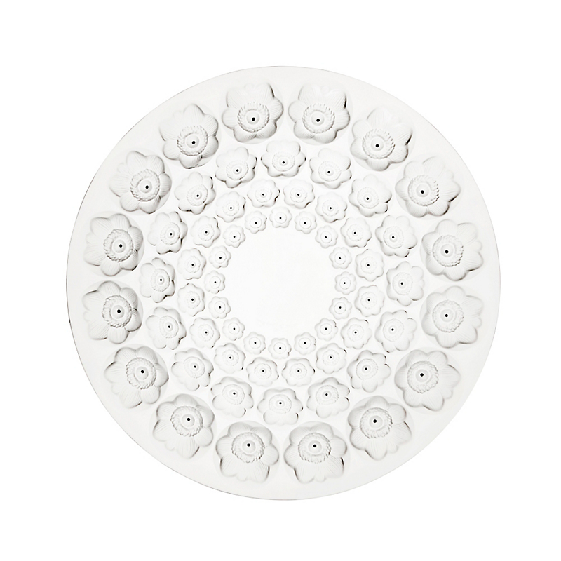 Lalique Anemone Bowl, Clear