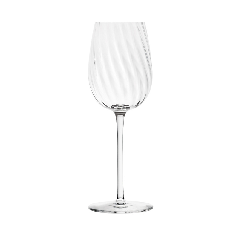Saint-Louis Crystal Twist Champagne Glass