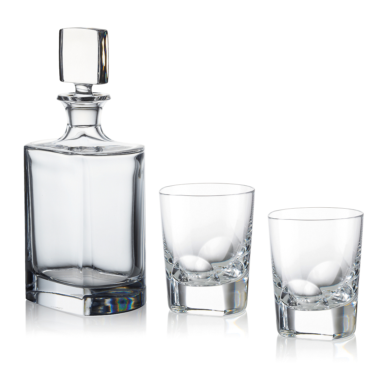 Old Fashioned Whiskey Decanter Set
