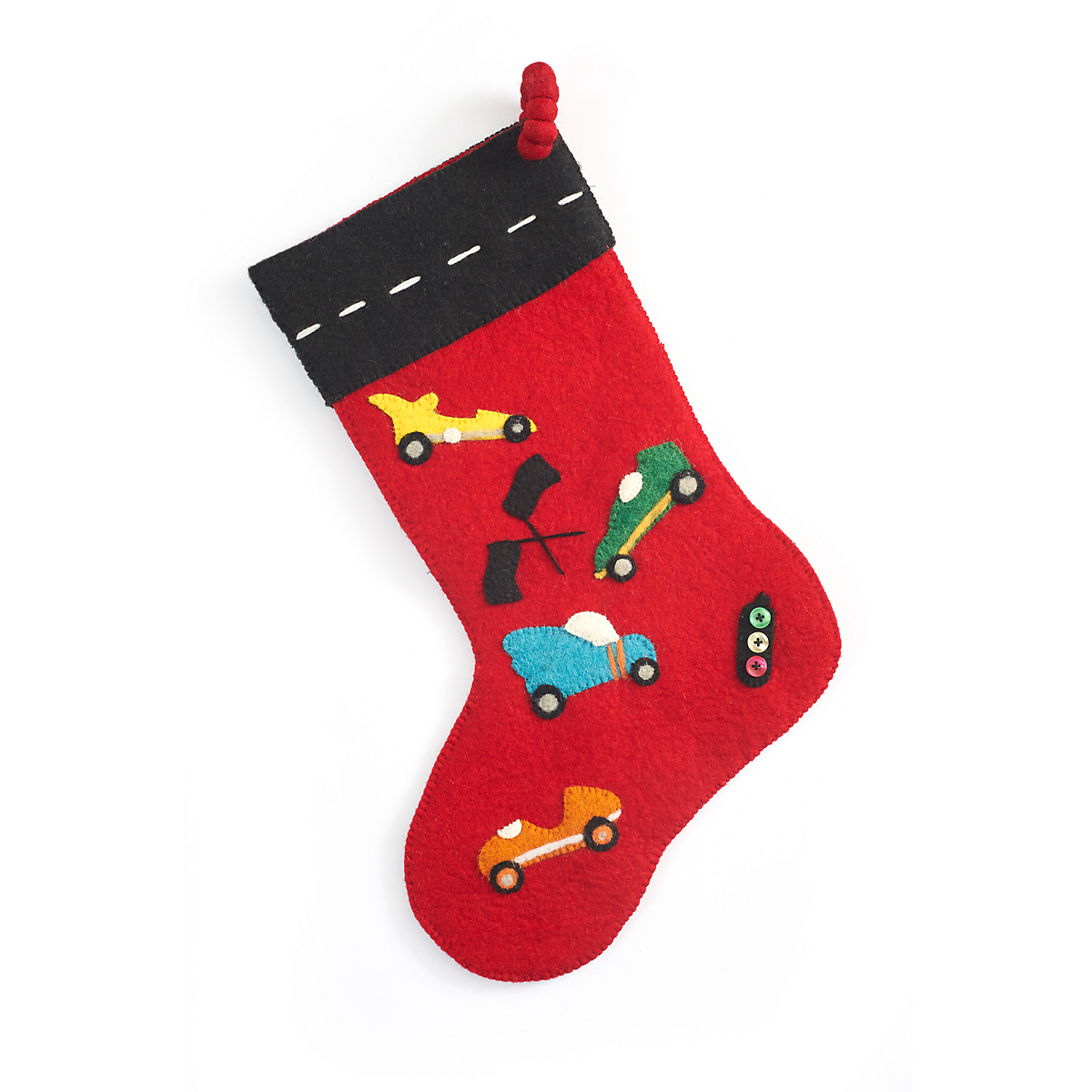 Race Cars Stocking