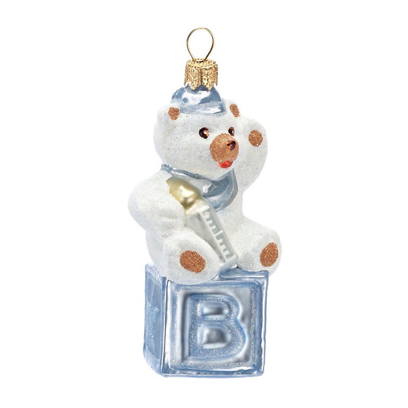 Baby's 1st Christmas Ornament, Blue