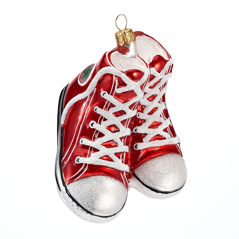 Red Sneakers Christmas Ornament