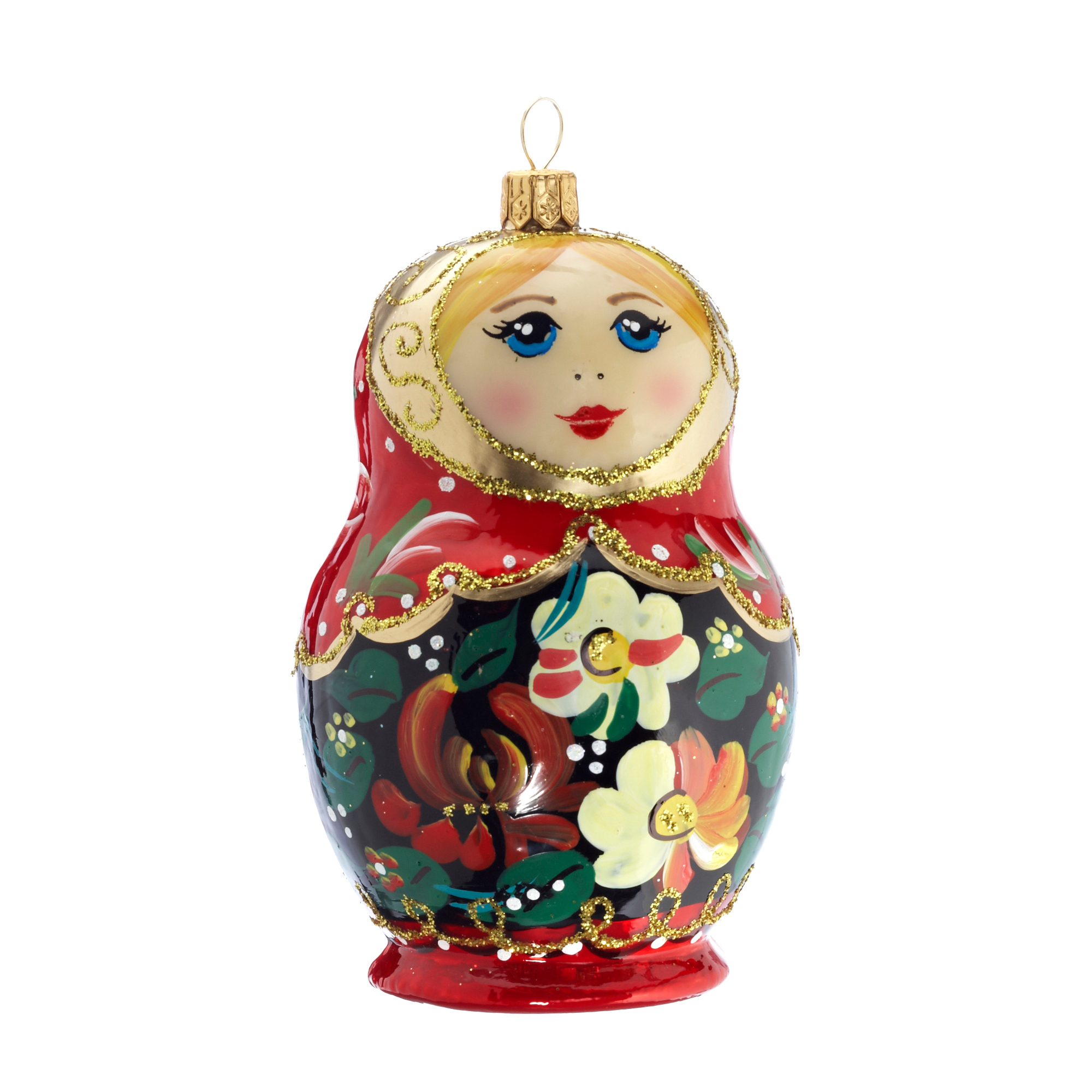 Matryoshka Doll Christmas Ornament