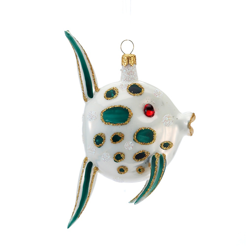 Spotted Sunfish Christmas Ornament