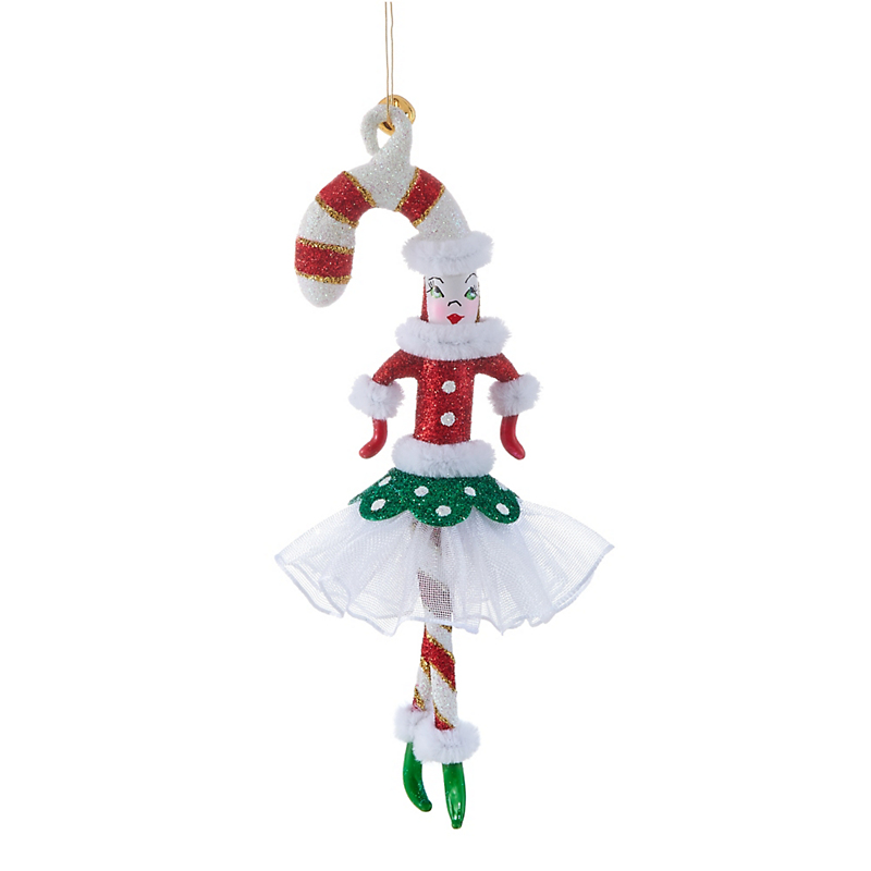 Jingle Nog Candee B. Abee Christmas Ornament