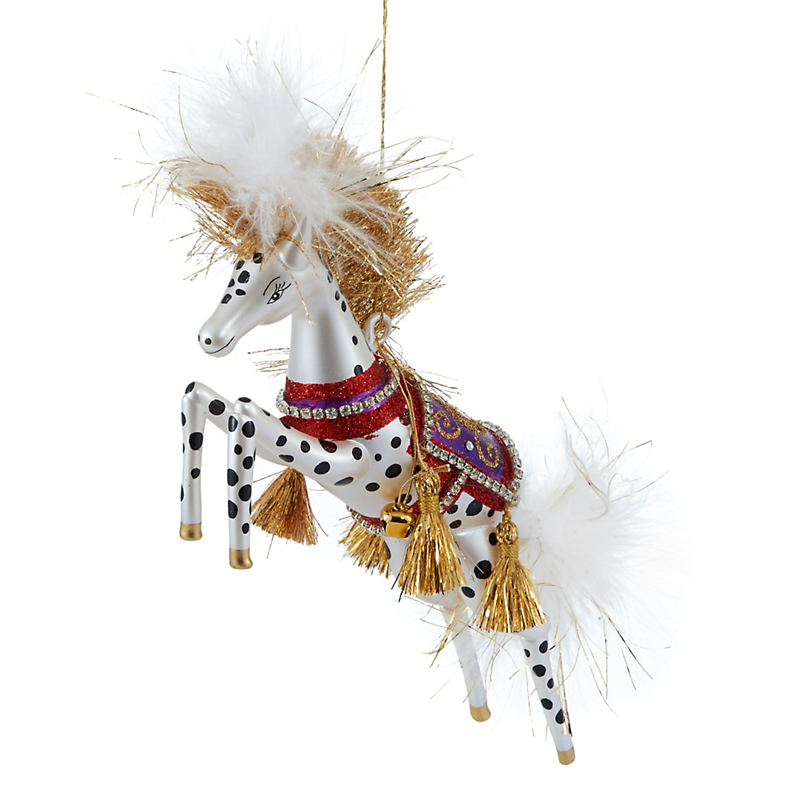 Jingle Nog Fallon Horse Christmas Ornament