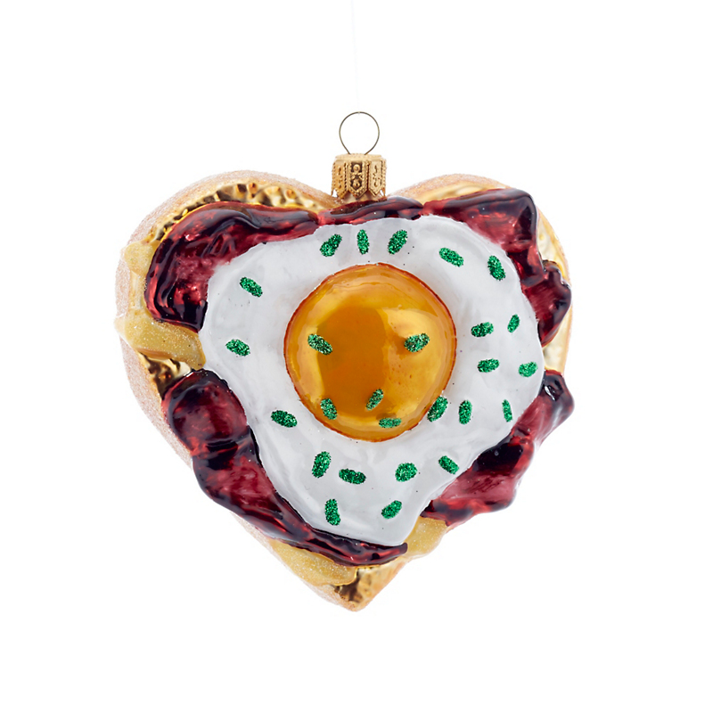 Breakfast Love Christmas Ornament