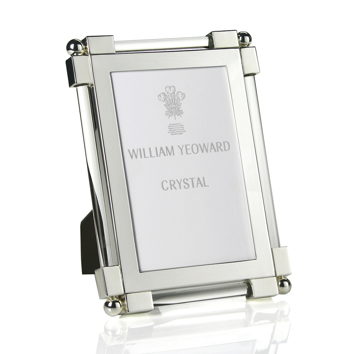 William Yeoward Crystal Classic Glass Clear Frame, 4x6