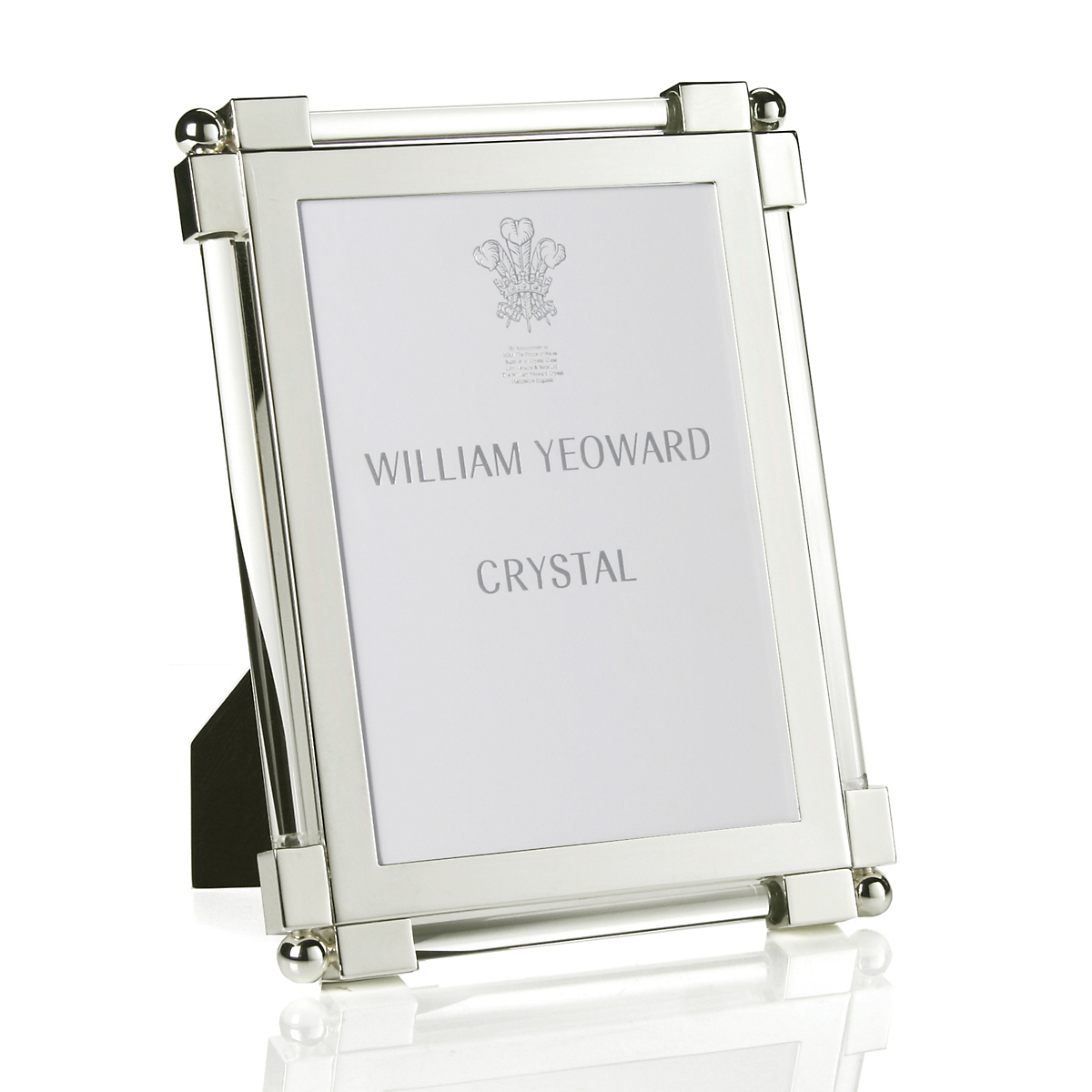 William Yeoward Crystal Classic Glass Clear Frame, 5x7