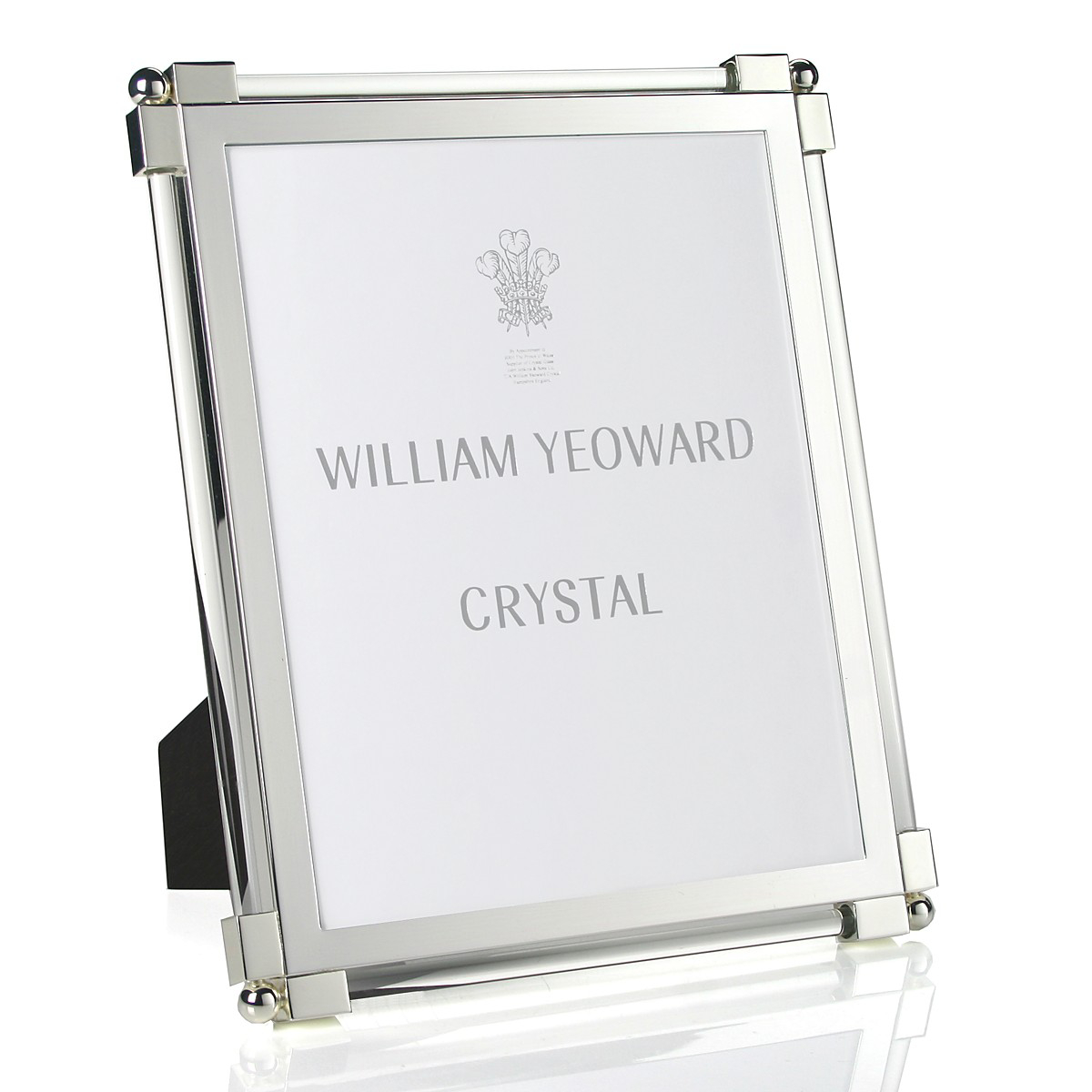 William Yeoward Crystal Classic Glass Clear Frame, 8x10