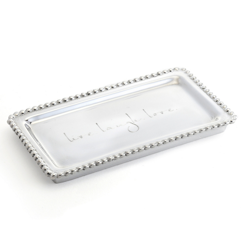 Mariposa Live, Laugh, Love Small Tray