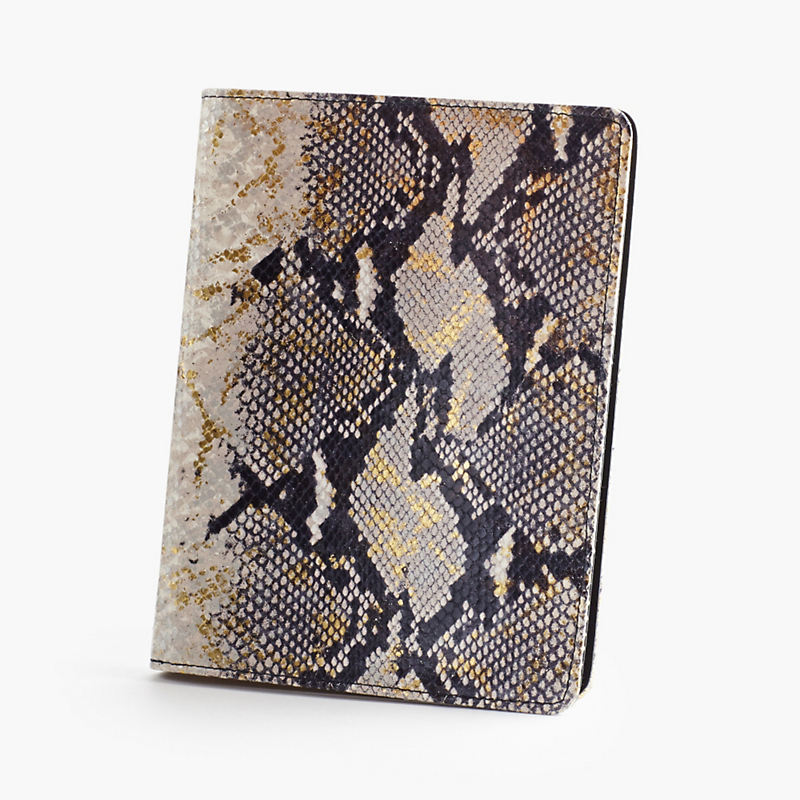 Graphic Image Snake-Embossed Notebook