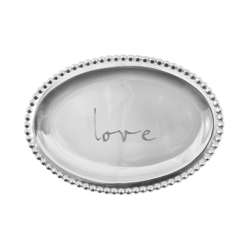 Mariposa Love Oval Tray