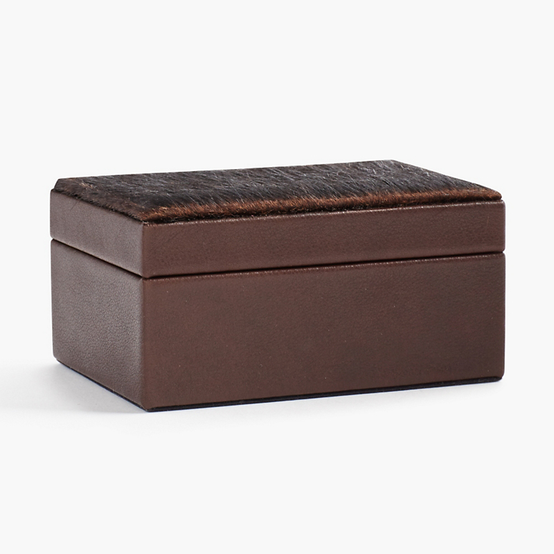 Graphic Image Calf Hair Small Box