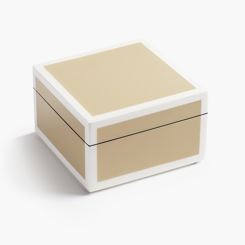 Taupe Square Box