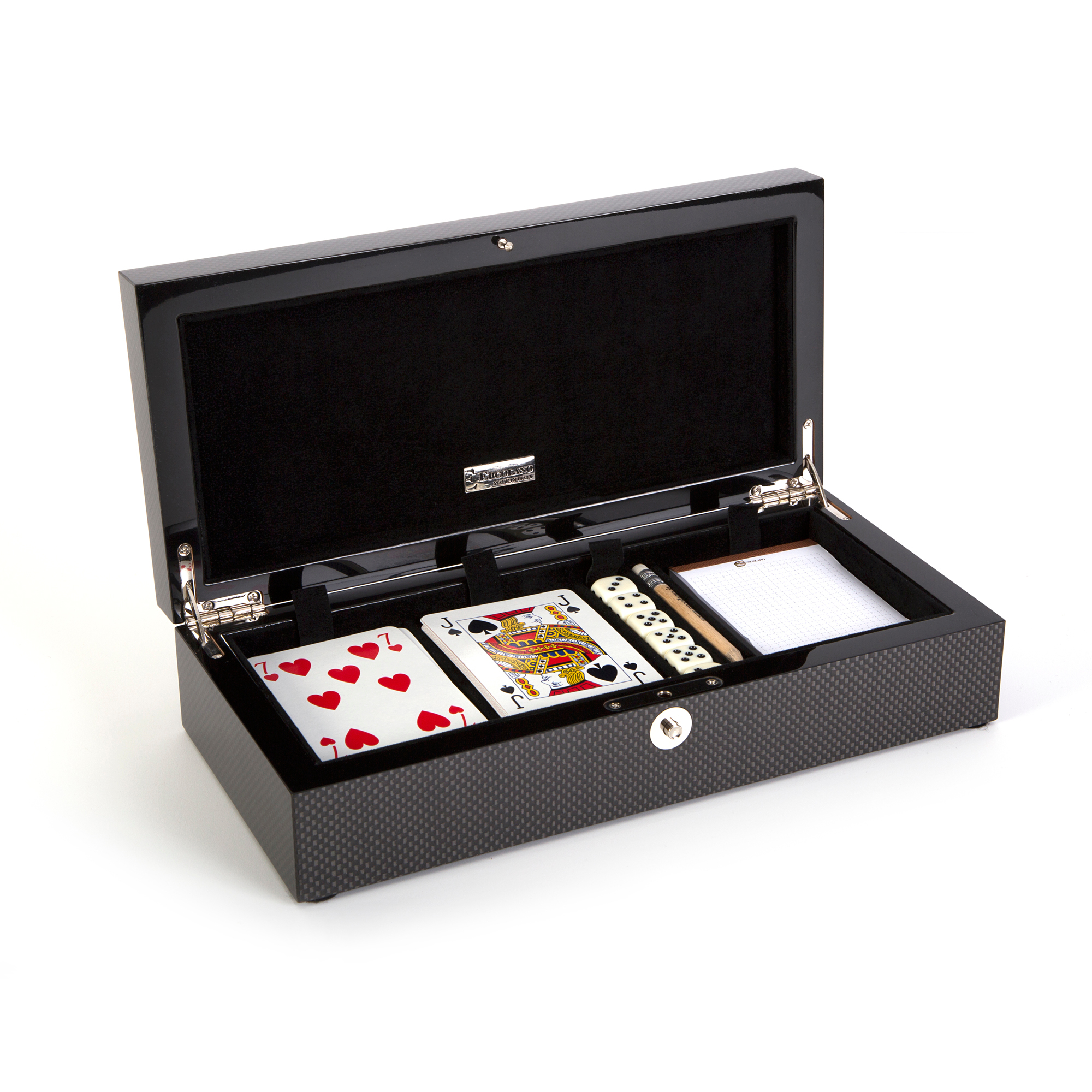 Ercolano Roger Game Card Box