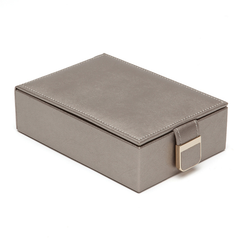 Travel Jewelry Box, Pewter
