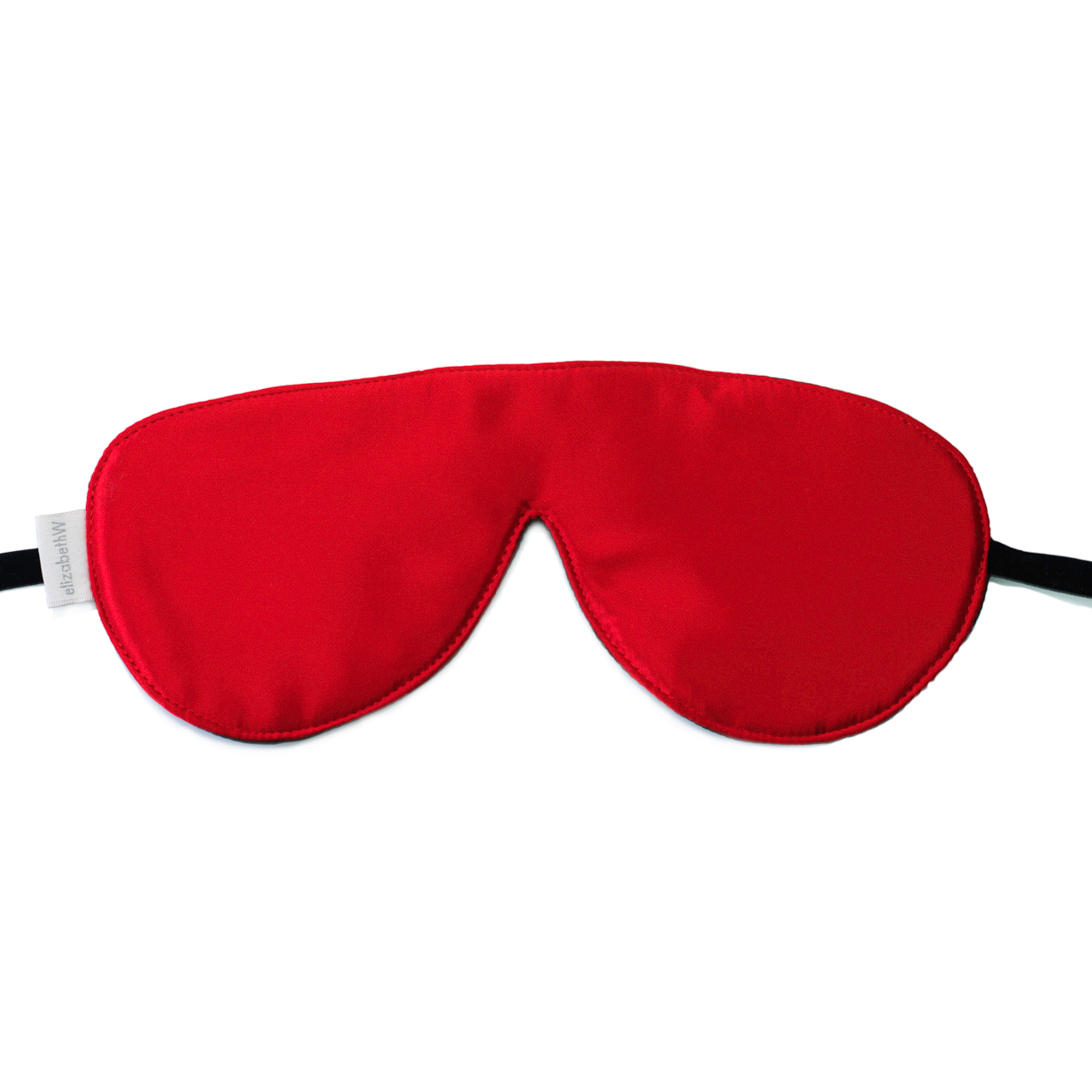 Elizabeth W Sleep Mask, Red