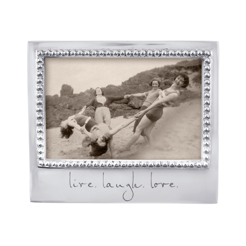 Mariposa 'Live, Love, Laugh' Frame, 4x6