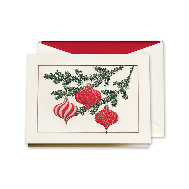 Crane & Co. Elegant Ornaments Cards, Set of 10