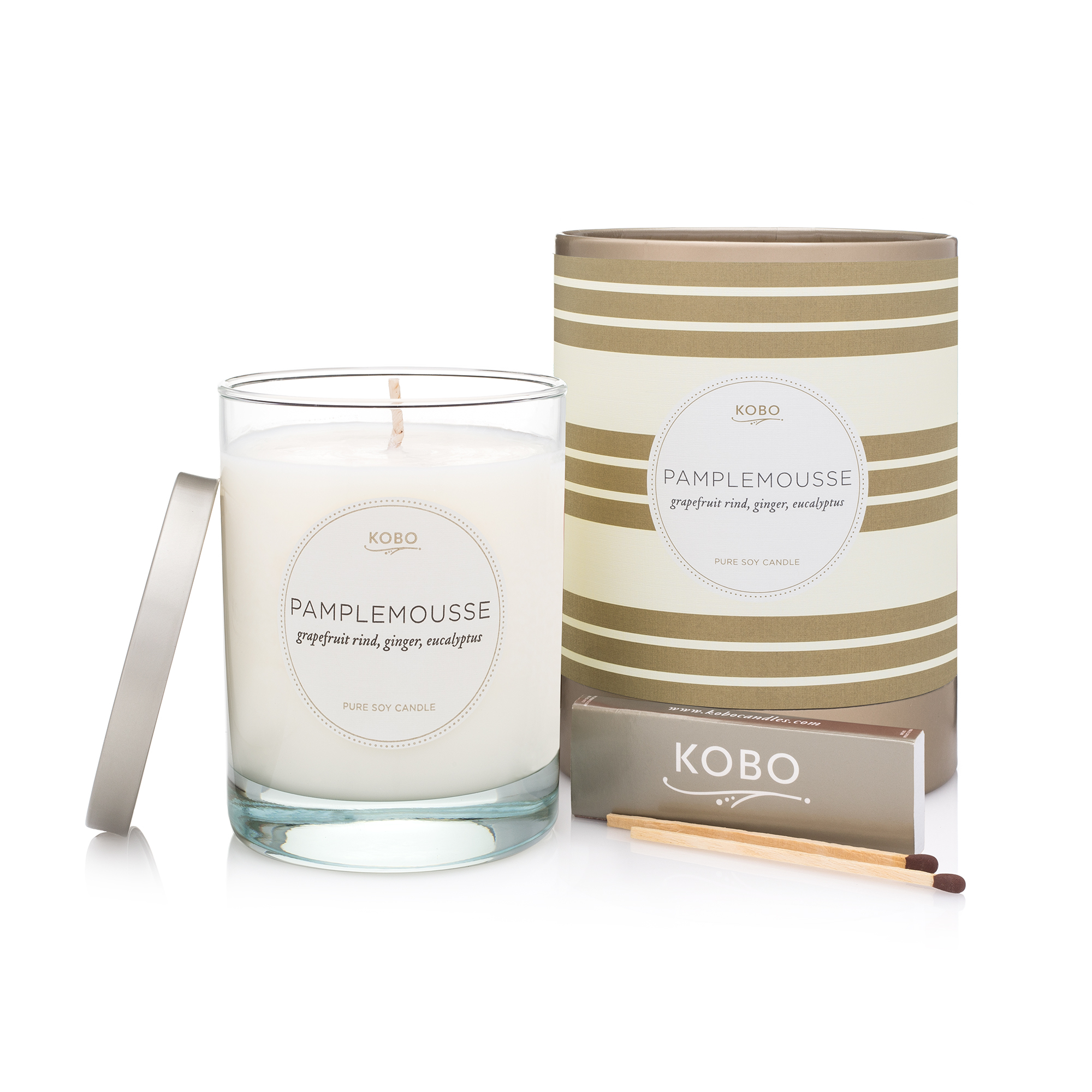 Kobo Pamplemousse Candle
