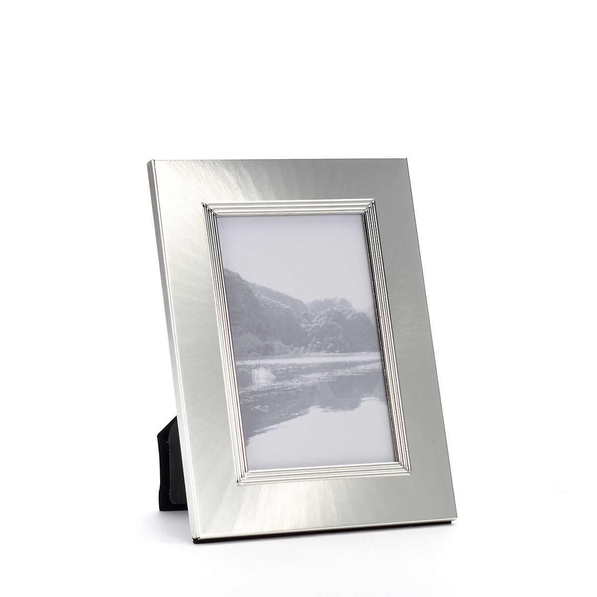 Brushed Silver Plated Frame, 4x6