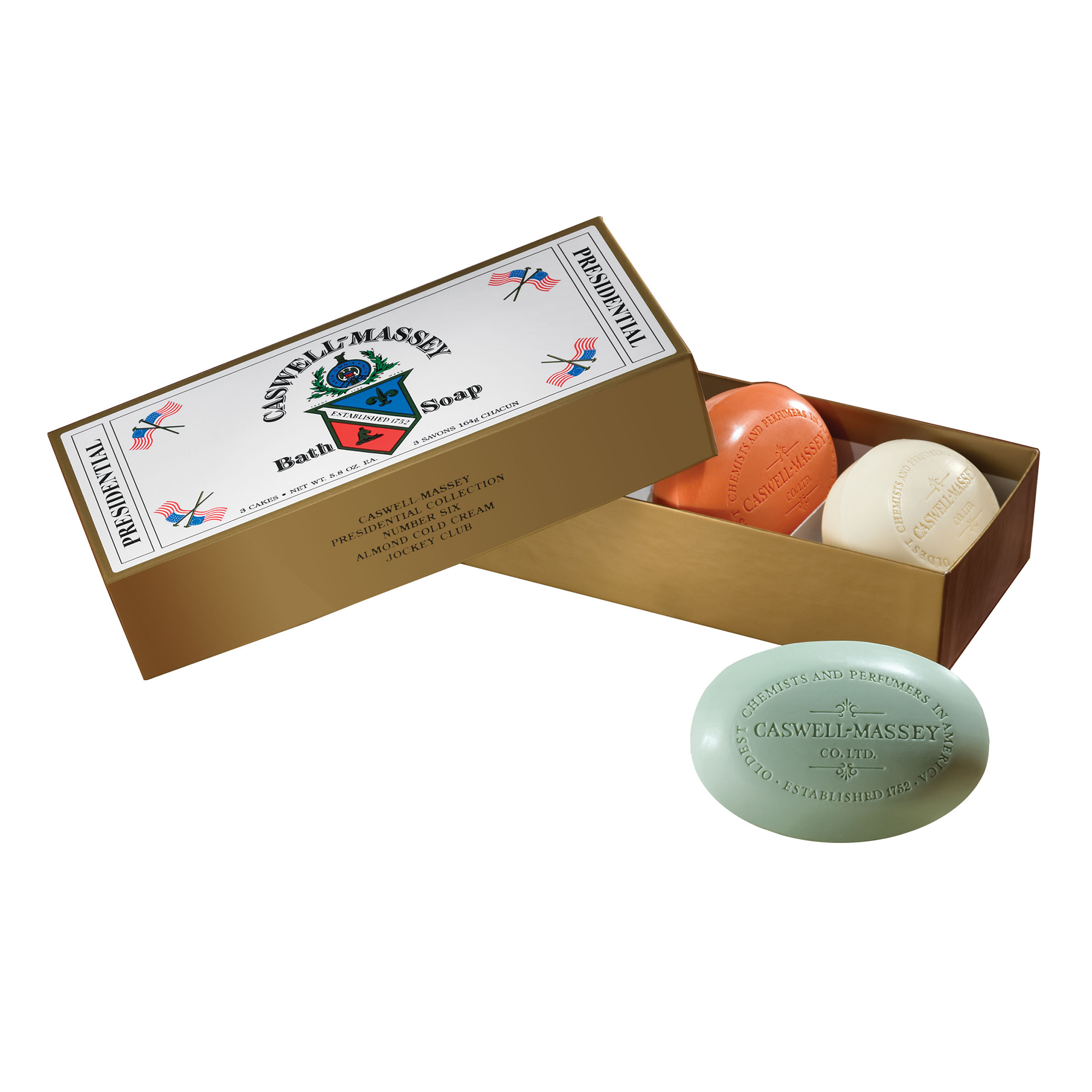 Presidental 3-Bar Soap Set