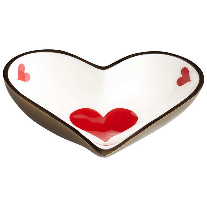 Heart Tray, Bronze