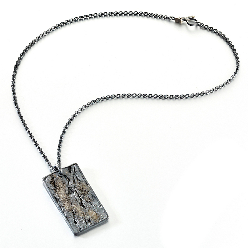 Todd Reed Dog Tag Pendant