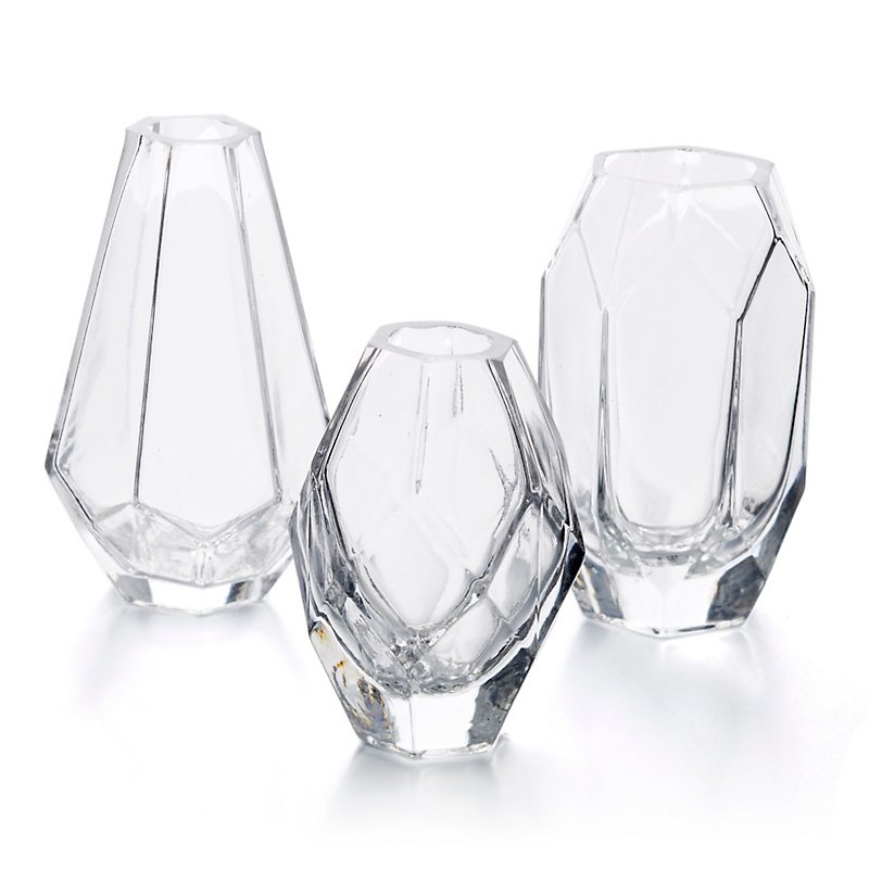 Geo Bud Vases, Set of 3