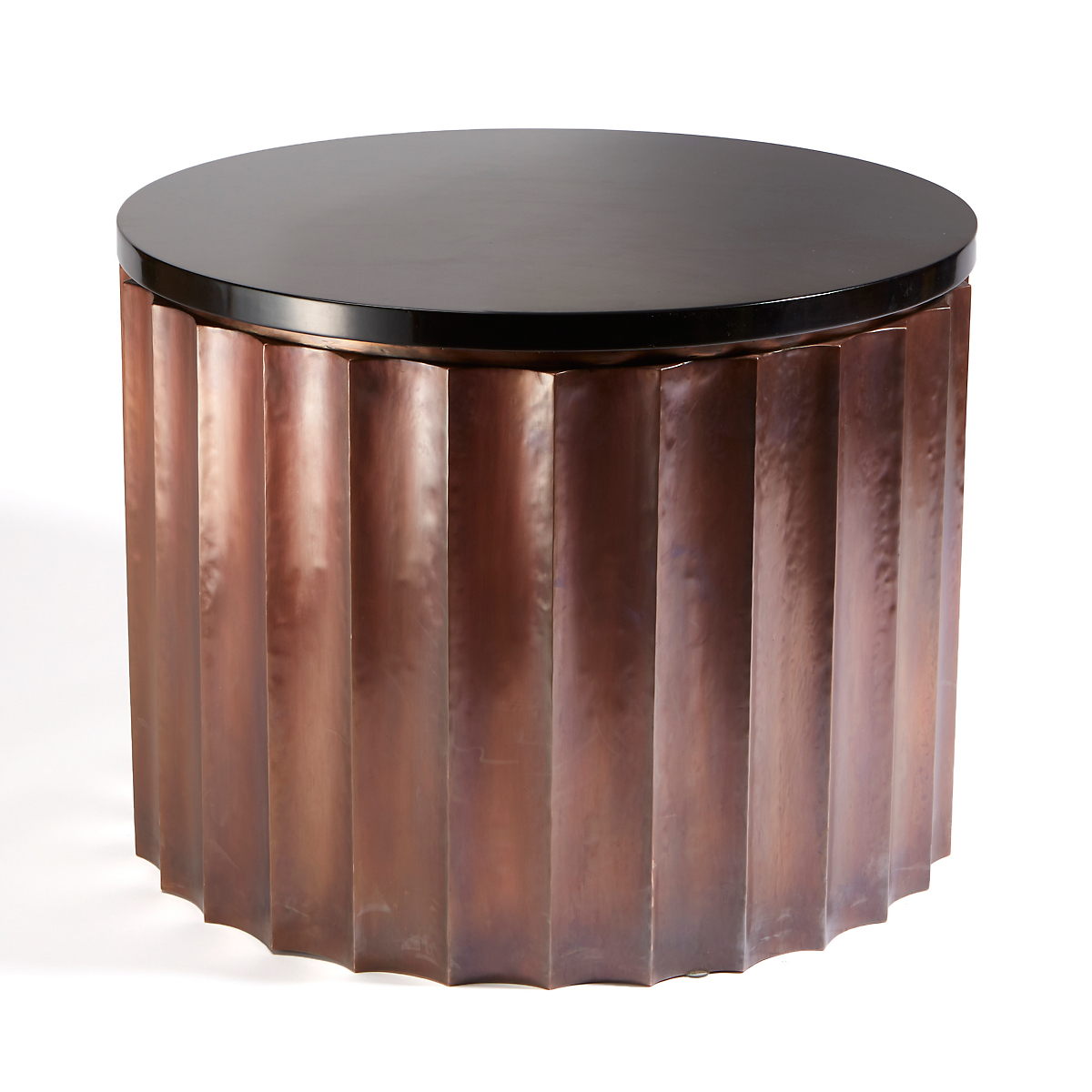 Robert Kuo Column Side Table