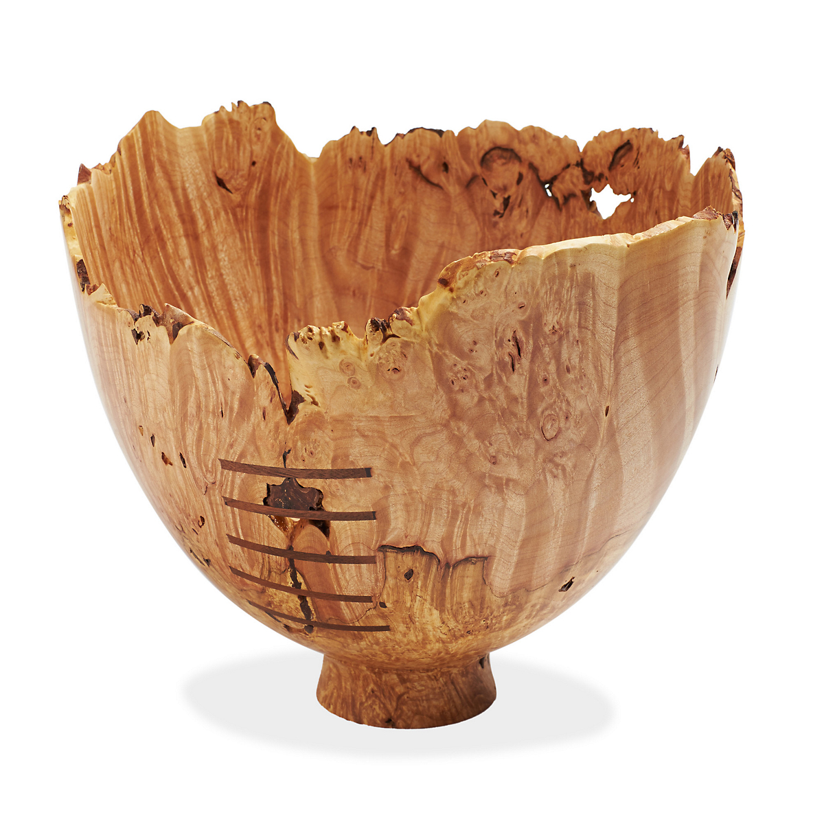 Jerry Kermode  Big Leaf Maple Bowl