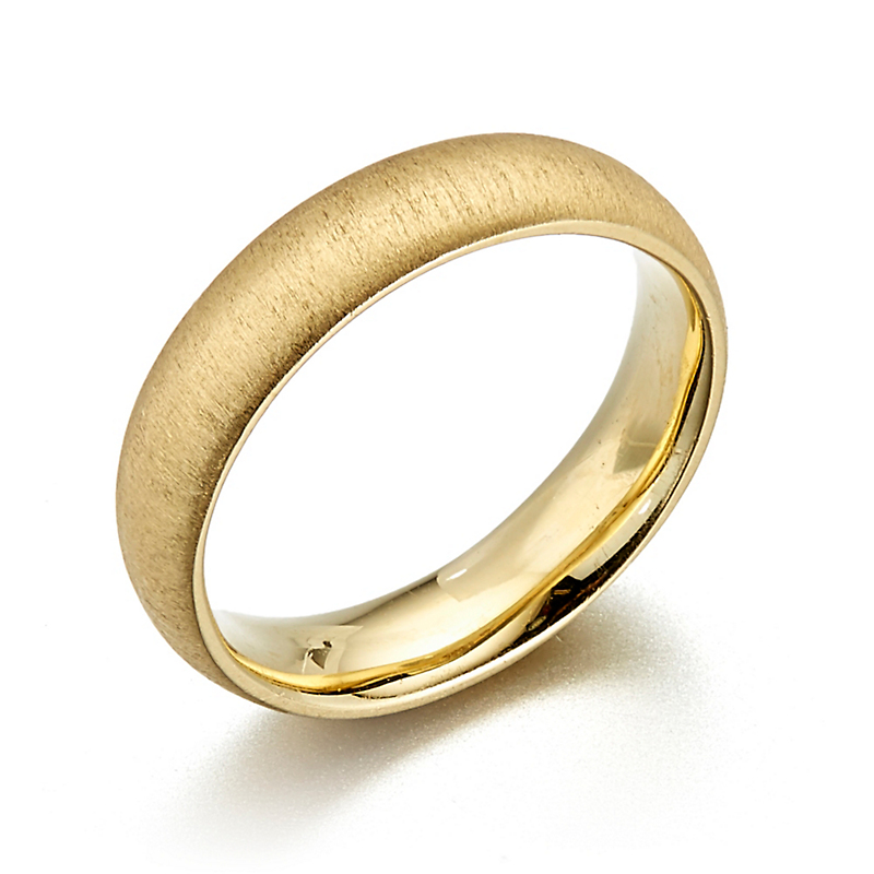 Aaron Henry Yellow Gold Savannah Ring