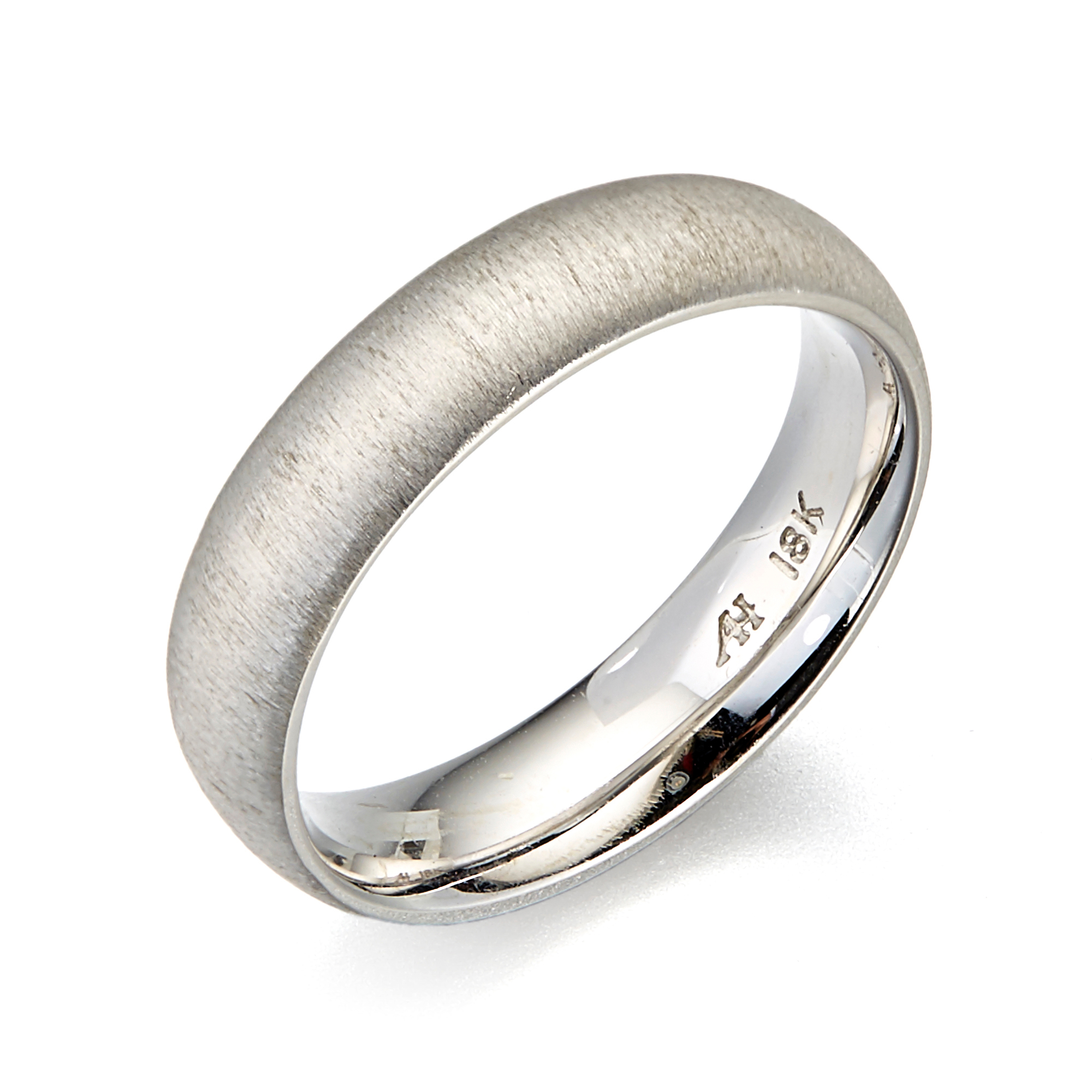 Aaron Henry White Gold Savannah Ring