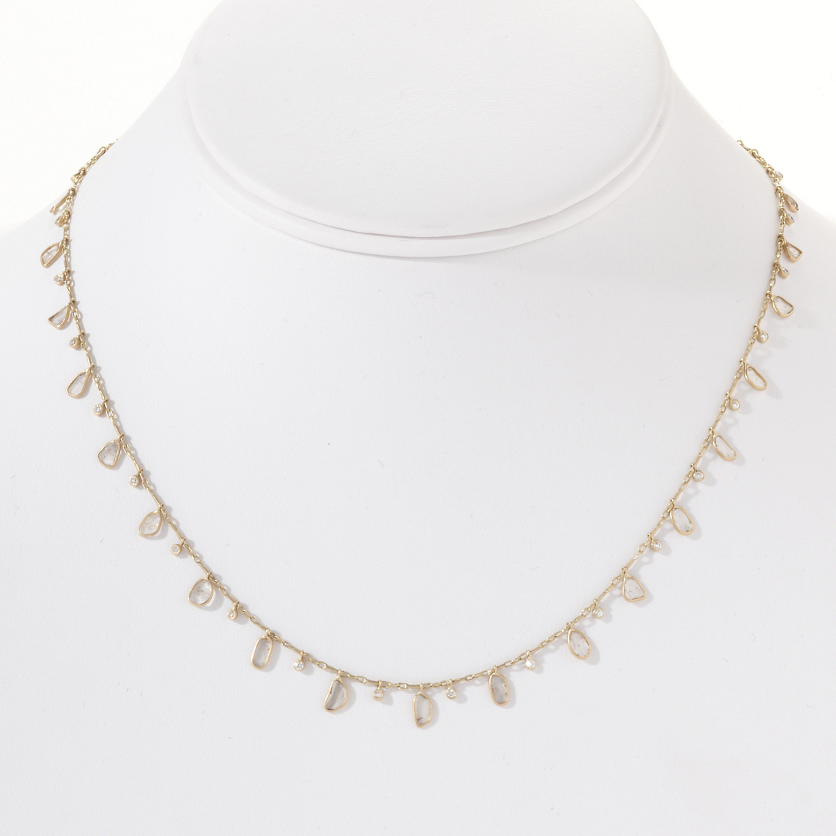 Kothari Diamond Fringe Necklace