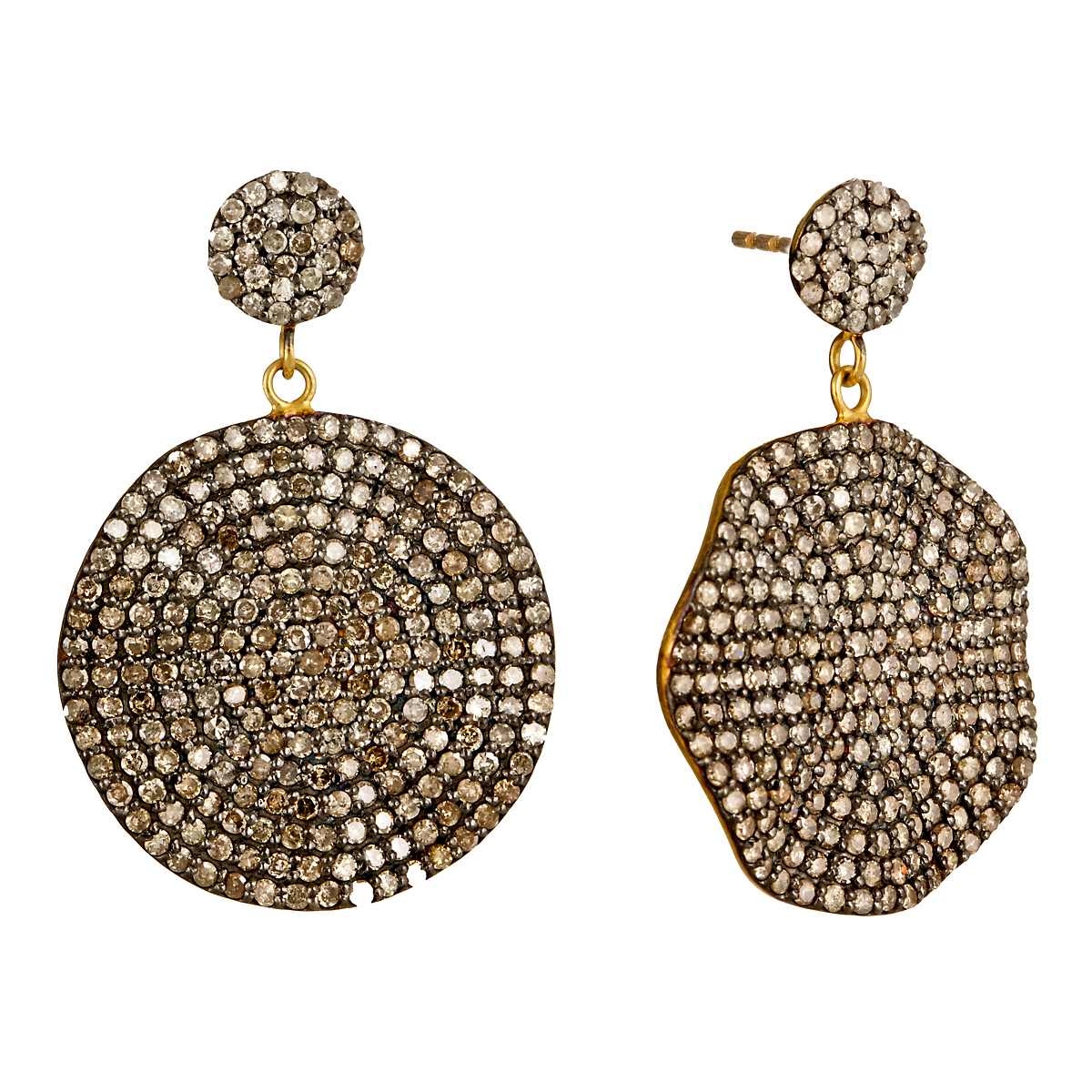 Nikki Baker Lusso Diamond Petale Earrings