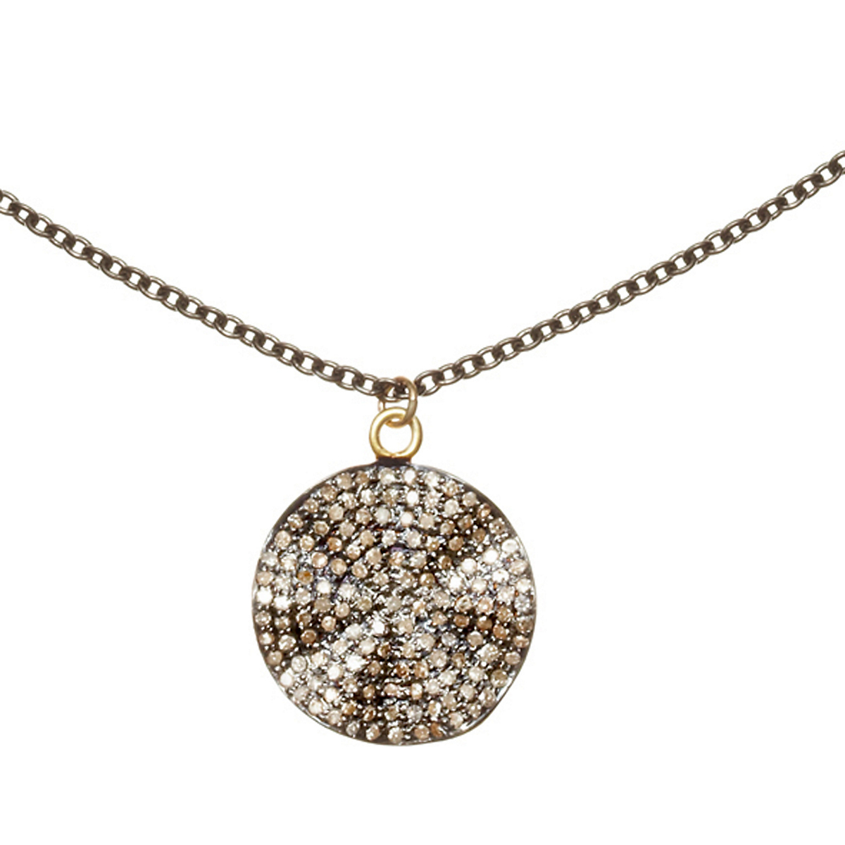 Nikki Baker Lusso Petite Diamond Petale Necklace