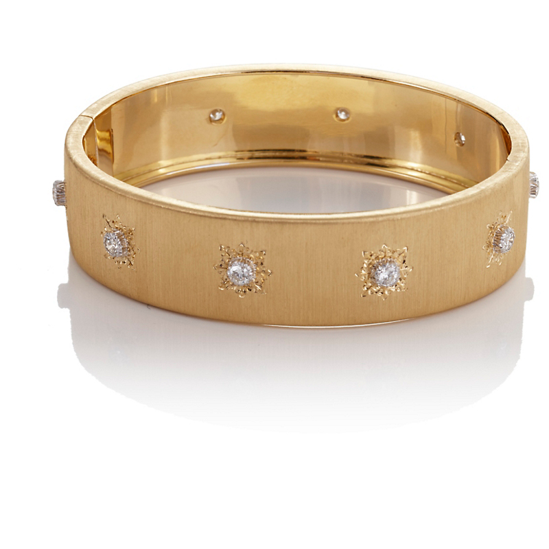 Buccellati Yellow Gold Classica Bangle