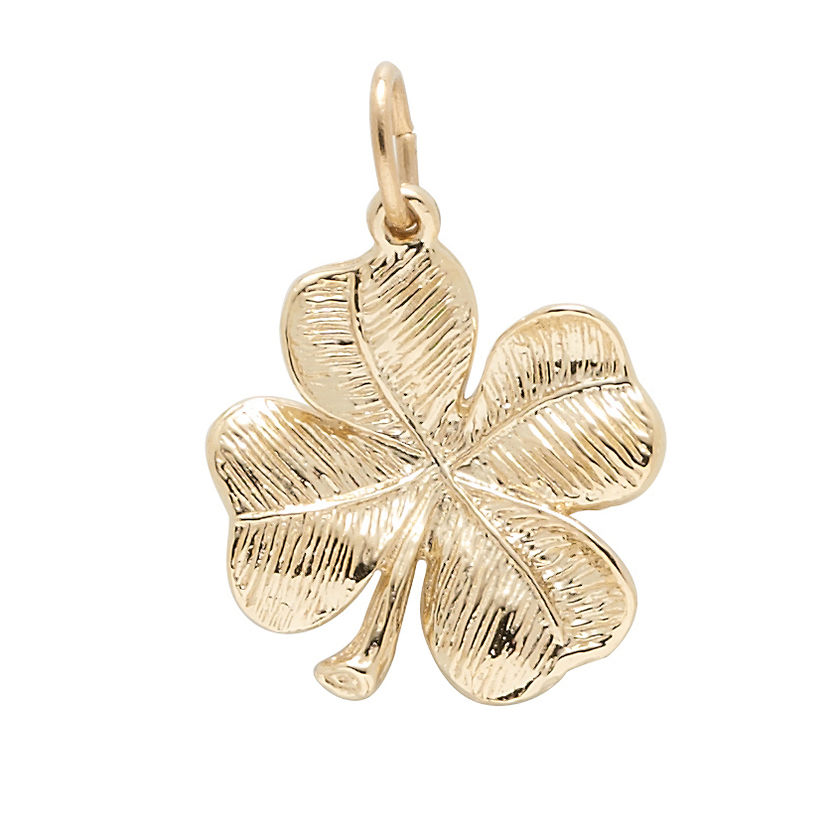 Gold Four Leaf Clover Charm