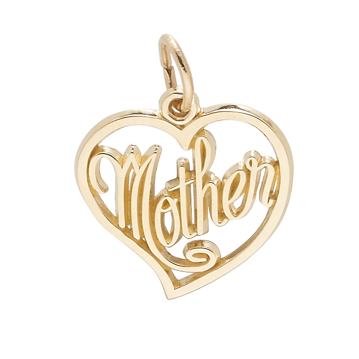 Gold Mother Charm