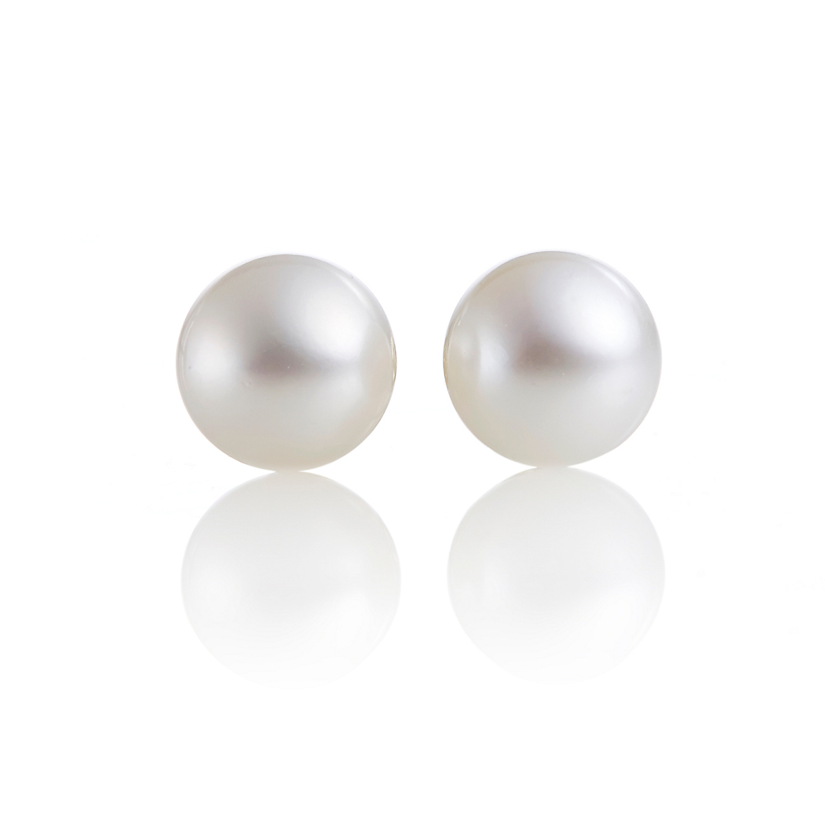 Gump's Freshwater 9.5mm Pearl Stud Earrings